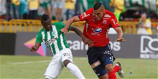 El 3 de agosto, Nacional y Medellín serán locales en Copa Colombia