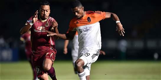Tolima no pudo con La Guaira en la Suramericana: igualó 0-0