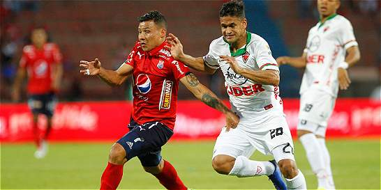 Medellín venció 3-0 a Patriotas en el Atanasio