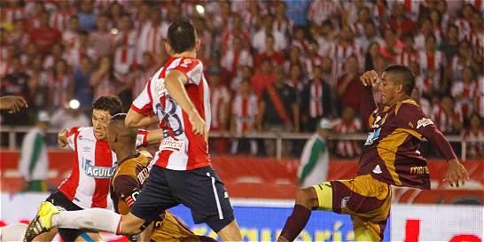 Junior frenó la racha como local del Tolima: empataron 1-1