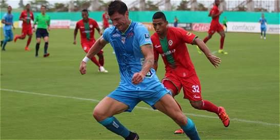 Jaguares y Cortuluá empataron 1-1 en Montería