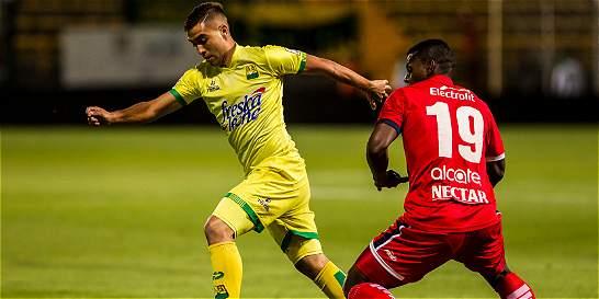 Fortaleza sigue en el fondo de la tabla, perdió 1-2 con Bucaramanga