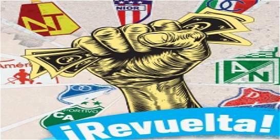 Los equipos grandes quieren hacer un 'motín' en el fútbol colombiano
