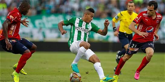Nacional venció 1-0 a Medellín con Gol de Macnelly Torres