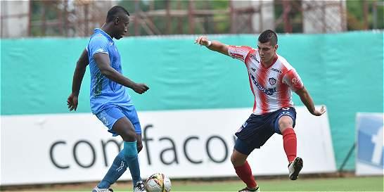 Jaguares y Junior empataron 0-0 en Montería