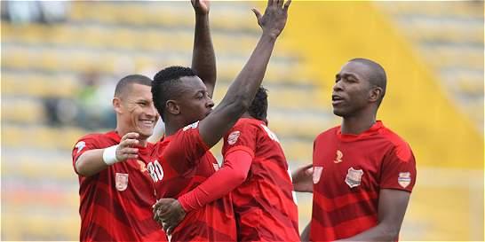 Rionegro levanta con goleada a Equidad: 4-0