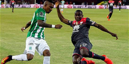 Santa Fe le sacó un empate a Nacional en Medellín