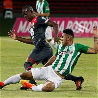 Nacional gana 3-1 a Santa Fe y se perfila finalista de Copa Colombia