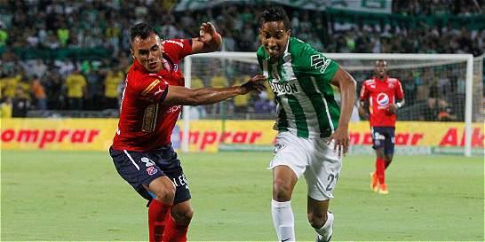 En un clásico polémico, Medellín empató 2-2 con Nacional