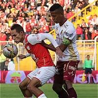 Santa Fe no pudo con Deportes Tolima: empataron 1-1 en Techo