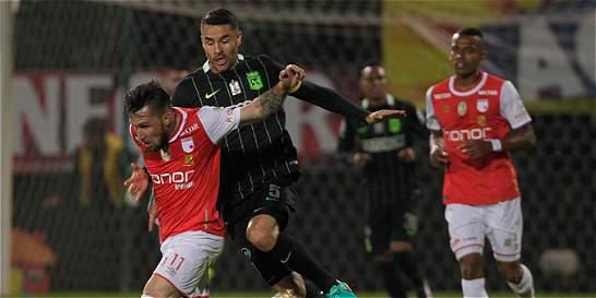 Santa Fe no reacciona y sigue en suspenso: empató 0-0 con Nacional