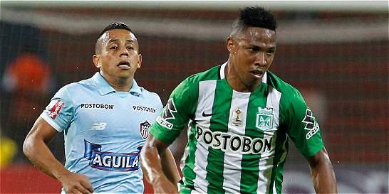 Nacional empató 2-2 con Junior, que quedó eliminado de la Liga