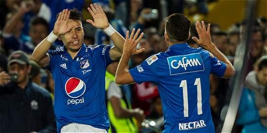 Millonarios derrotó 3-1 a Medellín y se aseguró dentro de los ocho
