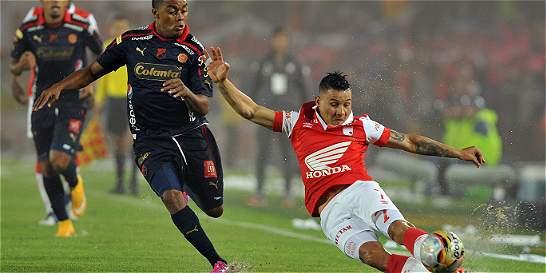 El último Santa Fe vs. Medellín, en finales, terminó con estrella