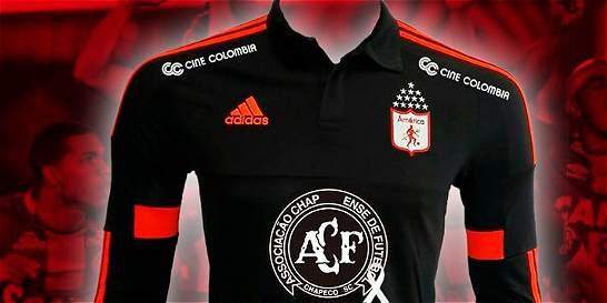 Camiseta del América llevará escudo del Chapecoense
