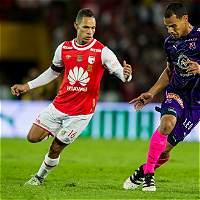 Santa Fe derrotó 2-0 a Medellín y jugará las semifinales de la Liga