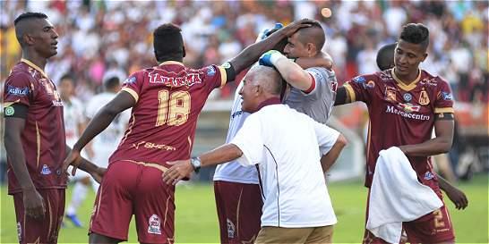Tolima, finalista de la Liga: derrotó en los penaltis a Bucaramanga