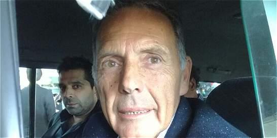 El nuevo DT de Millonarios, Miguel Ángel Russo, ya llegó a Bogotá