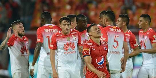 Listo el horario para la ida de la Superliga entre Medellín y Santa Fe