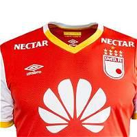 Así será la camiseta que usará Santa Fe en el 2017