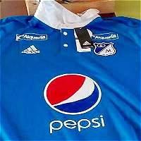 Esta sería la nueva camiseta de Millonarios