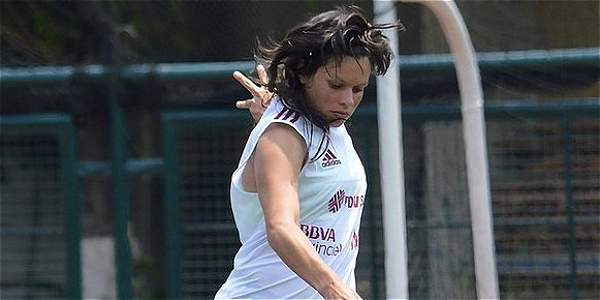 Nubiluz Rangel, jugadora del Cúcuta.