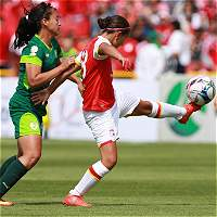 Juego Santa Fe-Huila de Liga femenina se transmitirá el domingo por TV