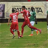 Patriotas se desquitó frente al Deportivo Cali: lo derrotó 3-1