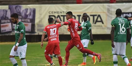 Patriotas se desquitó frente al Deportivo Cali: lo derrotó 3-2