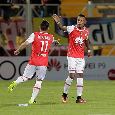 Santa Fe sigue sin encajar goles: venció 2-0 a Cortuluá