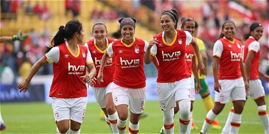 Santa Fe y Cúcuta lideran con 6 puntos el grupo B de la Liga femenina