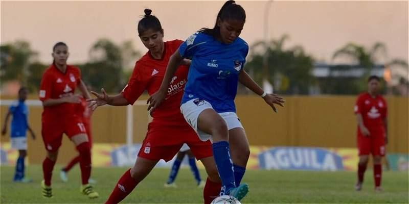 América goleó 5-0 al Quindío en la liga Femenina