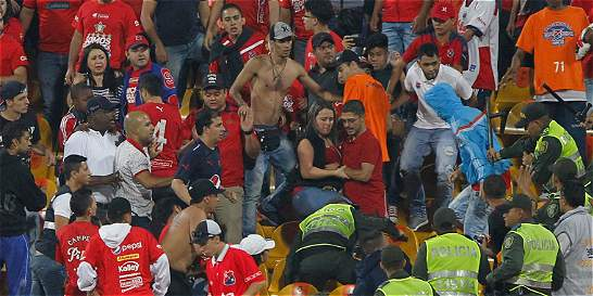 Suspendida dos fechas la tribuna norte del estadio Atanasio Girardot