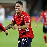Con un inspirado Juan Fernando Quintero, Medellín goleó 4-1 a Pasto