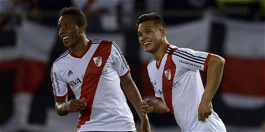 Tres colombianos, por el título con River Plate en Argentina