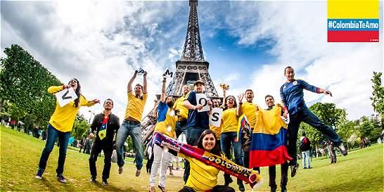 Digamos todos ¡gracias Colombia!