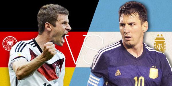 Final Mundial 2014: Alemania contra Argentina
