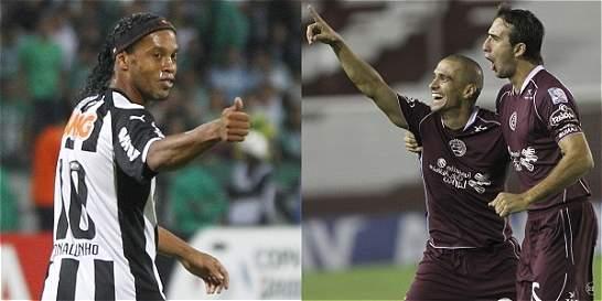 Lanús y Atlético Mineiro, listos para la ida de la Recopa Suramericana