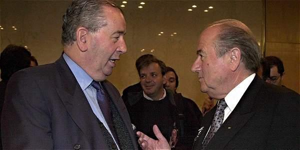 Blatter se declaró 'muy triste' tras el fallecimiento de Grondona