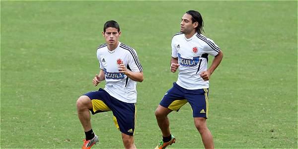 James Rodríguez y Falcao García han jugado juntos en la Selección, Porto y Mónaco.