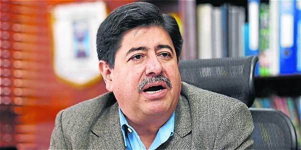 Luis Bedoya, presidente de la Federación Colombiana de Fútbol.