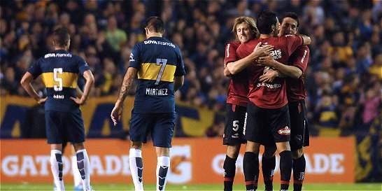 Teófilo Gutiérrez inició la Liga de Argentina marcando para River