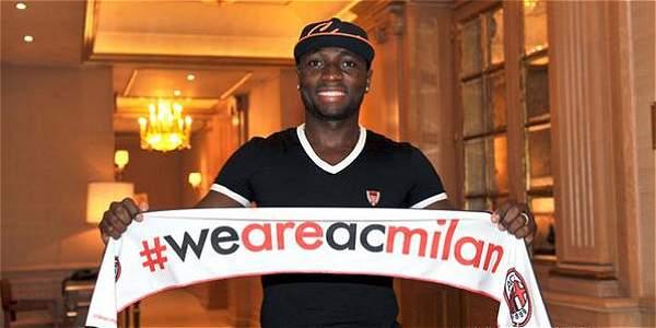 El Ac Milan ficha al Colombiano Pablo Armero