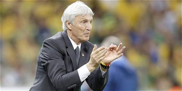 José Pékerman, técnico argentino.