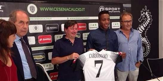 El colombiano Carlos Carbonero jugará cedido en el Cesena