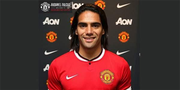 Falcao García jugará en el Manchester United