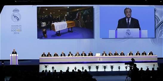 Unidad, la gran conclusión de la asamblea del Real Madrid
