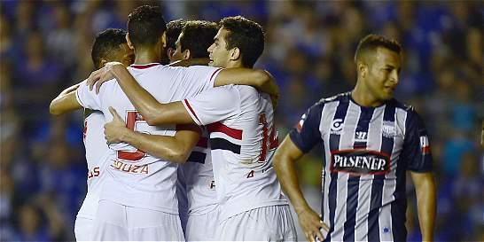 São Paulo perdió pero es semifinalista de la Copa Suramericana