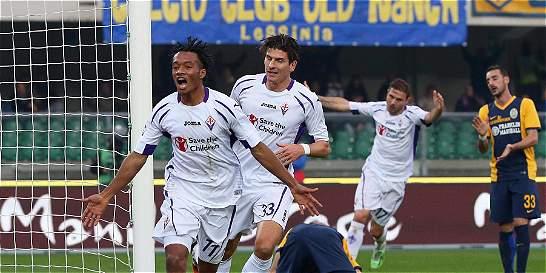 Cuadrado e Ibarbo marcaron en la fecha 12 de la Liga de Italia