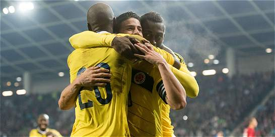Colombia se mantiene tercera en la clasificación de la Fifa